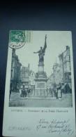 ANTWERPEN : Monument De La Furie Française - Au Verso Pub ESPERANTO - Esperanto