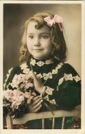 Themes - Enfants - Ref 422 -fantaisie - Portrait De Fillette   - Fillettes - Carte Bon Etat - - Portraits