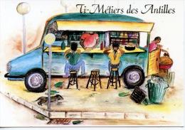 Antilles Françaises : Ti Métiers Des Antilles  : Marchands De Beignets Accras Jus Locaux - Illustrateur Evanor Ficadiere - Altri