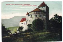 FL - Schloss Vaduz Und Schweizer Bergen - Liechtenstein