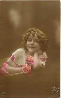 Themes - Enfants - Ref 406  -fantaisie - Portrait De Fillette -  Fillettes -carte Bon Etat - - Portraits