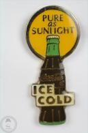Pure As Sunlight - Ice Cold Coca Cola Bottle - Pin Badge #PLS - Coca-Cola