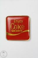 Enjoy Coke Trade Mark - Coca Cola - Pin Badge #PLS - Coca-Cola