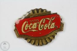 Drink Coca Cola - Vintage Advertising  - Pin Badge #PLS - Coca-Cola