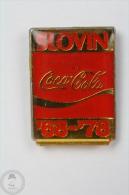 Slovin ´68 - ´78 - Coca Cola - Advertising Pin Badge #PLS - Coca-Cola