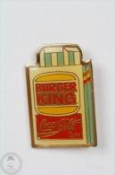 Burger King & Coca Cola - Advertising Pin Badge #PLS - Coca-Cola