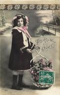 Themes - Enfants - Ref 381 - Fantaisie -fillette En Manteau D'hiver  - Fillettes  - Carte Bon Etat - - Portraits