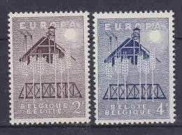 Europa Cept 1957 Belgium 2v ** Mnh (14540) - Europa-CEPT