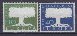 Europa Cept 1957 Germany 2v ** Mnh (14543) - Europa-CEPT