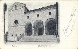 OSIMO ..-- ITALIA ..-- Cattedrale . Vers RIMINI . Verso . - Unclassified
