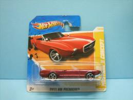 FORD MUSTANG II CONCEPT 1963 - 2011 HW Première / New Models - HOTWHEELS Hot Wheels Mattel 1/64 EU Blister - HotWheels