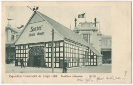 Exposition Universelle De Liège. 1905. Distillerie Allemande. - Lüttich