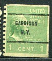 USA - Préoblitéré - Precancel - GARRISON - NEW YORK - Etats-Unis