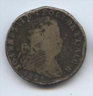 Grand Bronze De 40 Reis De Joao VI Du Portugal, 1821 - Portugal