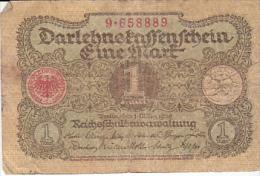 1 Mark Nr 9 658889 Uitgegeven  1 Maart 1920 - [ 3] 1918-1933 : Weimar Republic