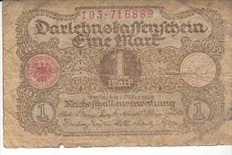 1 Mark Nr 103 716889 Uitgegeven  1 Maart 1920 - [ 3] 1918-1933 : Weimar Republic
