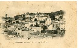 CPA 63 ST BONNET LE CHASTEL VUE PRISE DE LA CROIX D ARLANC 1905 - Andere Gemeenten