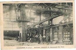 Gueugnon - Aciéries Appareil De Chargement Des Fours - Gueugnon