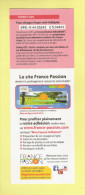 * Marque Pages :  FRANCE PASSION   - Voir  2 Scans - - Bookmarks