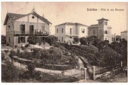 RIMINI--CATTOLICA--VILLE IN VIA MARCONI--CARTOLINA INDIRIZZATA AL PROF. GIORGIO DEL VECCHIO-- - Rimini