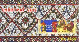 Sri Lanka 2012 Xmas MS Mint MHN - Sri Lanka (Ceylon) (1948-...)