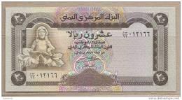 Yemen - Banconota Non Circolata Da 20 Rials - Yemen