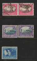 SOUTH AFRICA UNION  1945 Used Pair Stamp(s) Victory Serie Nr.107-109  #12265 5 Values Only) - South Africa (...-1961)