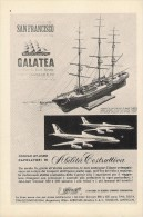 # CONVAIR JET LINERS 1950s Italy Advert Pub Airlines Airways Aviation Airplane - Advertisements
