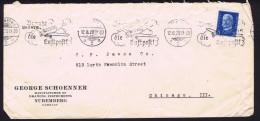 1929  Brief Nach USA  MiNr 416 - Germany