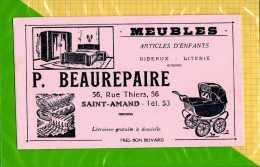 BUVARD  : Meubles P. BEAUREPAIRE Saint Amand Articles D'enfants Poussette - Kids