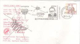 DEUTSCHLAND  GARCHING  Dr Ludwig Biermann1907/1986 Astronome  27/12/84 - Europe