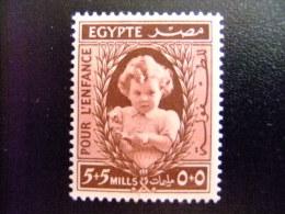 EGIPTO - EGYPTE - EGYPT - UAR - 1940 - Yvert Nº 220 * MH - POUR L´ENFANCE ( PRINCESSE FERIAL , Á 18 MOIS ) - Egypt