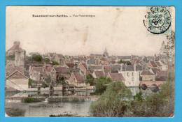 C-P-A(72.Sarthe) Beaumont-sur-Sarthe.Vue Panoramique.Photo-Coul,J.Bouveret,Le Mans. - Beaumont Sur Sarthe
