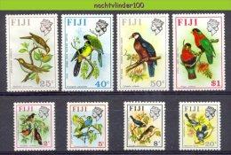 Nbm0128 FAUNA VOGELS DUIF PAPEGAAI PIGEON PARROT BIRDS VÖGEL AVES OISEAUX FIJI 1971 PF/MNH # - Birds