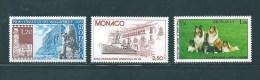 Monaco Timbres De 1981  N°1278 A 1280  Neufs ** Parfait - Nuovi
