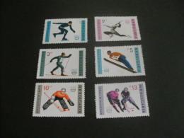 K9155- Set MNh BULGARIA . 1964. IX OLYMPIC WINTER GAMES. INNSBRUCK - Winter 1964: Innsbruck