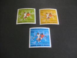 K9193- Set MNh Mauritanie - 1973- SC. C136-138-  Worldcup Soccer Football Munich - Coppa Del Mondo