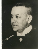 Photo  9X13 (guerre 39-45  B13) Proces Nuremberg  (erich Raeder) - War 1939-45