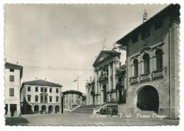 Casm: ITALIE - SAN DANIELE DEL FRIULI Piazza Duomo (Auto) 1966 - Udine