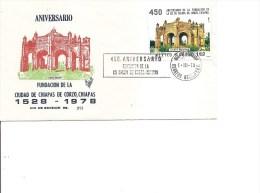 Mexique - Chiapas ( FDC Du Mexique De 1978 à Voir) - Mexico