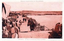 Mossoul -  Le Pont De Bateaux Et La Plaine De Ninive - Iraq