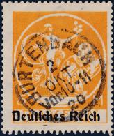 Heimat DE BY BURTENBACH 1920-10-02 Voll-Stempel Auf Mi#136I - Used Stamps