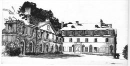 CHATEAU   D'ARLAY  : Dessin De M. BOURGUIGNON - France
