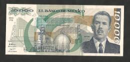 [NC] MEXICO - El BANCO De MEXICO - 10000 PESOS (1989) - CARDENAS - Moldavia