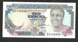 [NC] ZAMBIA - BANK Of ZAMBIA - 10 KWACHA (1989 - 1991) - Zambia