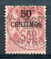 MAROC 1900 Type I - Yv.6A (Mi.5 I, Sc.6a) Used Clear Cancel (perfect) VF - Marocco (1891-1956)