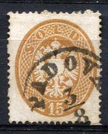 LOMBARDY-VENETIA 1863 Perf.14 - Yv.22 (Mi.18, Sc.19) Used (perfect) VF - Lombardy-Venetia