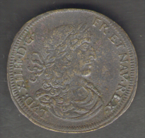 DEUTSCHLAND - RECHENPFENNIG - Cornelius Lauffer Meister (1658-1711) - LOUIS XIV - Monarchia/ Nobiltà