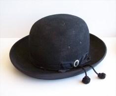 Ancien Chapeau De Curé En Trés Bon état - He