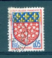 VARIETES  FRANCE  ANNEE   1962 N° 1352 AMIENS OBLIT SANS GOMME  3 SCANNE DESCRIPTION - Varieties: 1960-69 Used